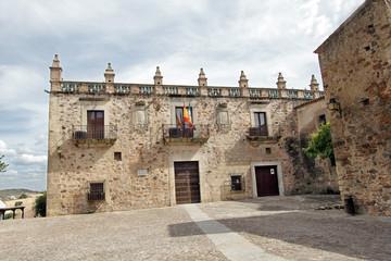 Wall Mural - Museo arqueológico palacio de las Veeltas, cáceres, España