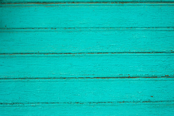 background old painted wooden planks with cracked paint