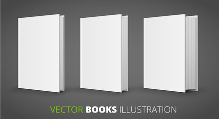 Three vector books