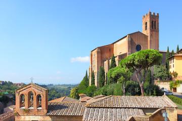 Wall Mural - Basilica in Siena