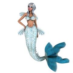 Photo sur Plexiglas Mermaid 人魚