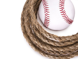 rope baseball ball
