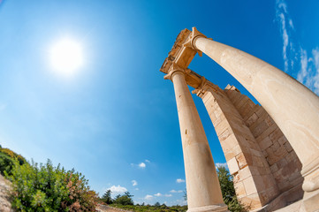 Sanctuary of Apollo Hylates - popular touristic place in Cyprus