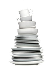 Photo Stands Ready meals Plate Tower