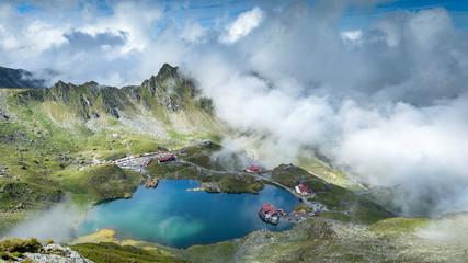 Fagaras Mountains, Romania. Transylvania region.