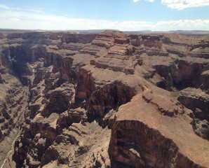 gran canyon aerial view