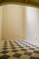 chess room, old and antique space