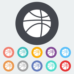 Basketball icon.