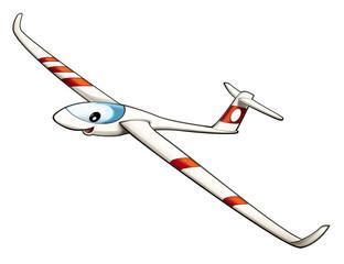Cartoon glider