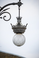 street lamp, tipical architecture of the Spanish city of Valenci