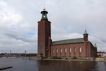 Швеция. Стокгольм. Городская ратуша