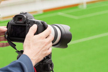 Recording sport event
