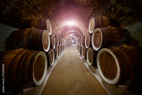 Fototapete Wine cellar