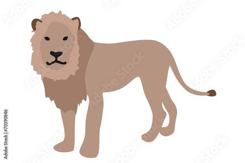 ライオンのイラスト 左向きfotoliacom の ストック写真とロイヤリティ
