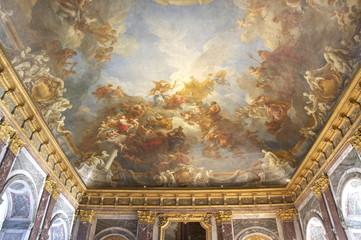 ヘラクレスの間、フレスコ画、ベルサイユ宮殿