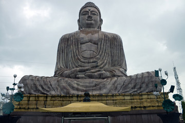Giant Buddha statue in Bodhgaya, India