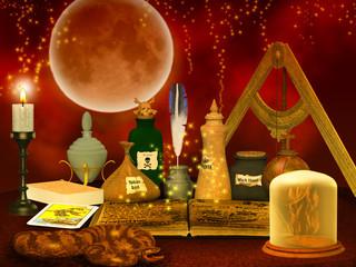 alchemy study  background
