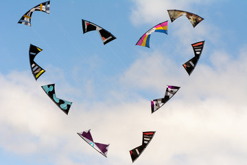 Coeur en cerf-volant