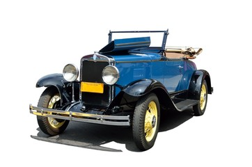 Vintage 1930 convertble car