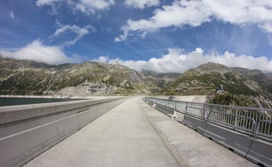 Kölnbrein Dam Wall Highest In Austria