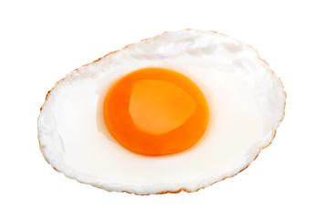 Fond de hotte en verre imprimé Ouf Chicken fried egg