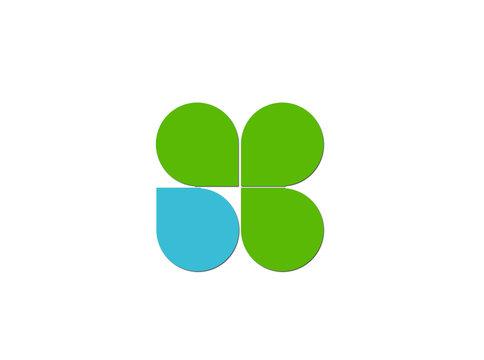 Clover leaf logo