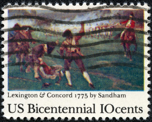 200th anniversary of the Lexington-Concord Battle