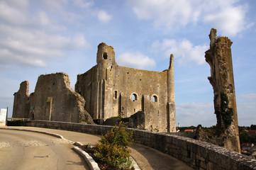 Chateau des évêques ou baronnial à Chauvigny
