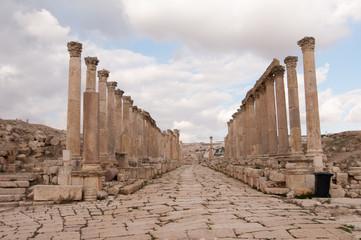 Cardo Maximus of Jerash, Jordan