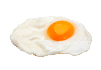 Fond de hotte en verre imprimé Ouf Chicken fried egg