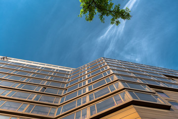 Closeup photo of a building