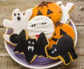 Wall Mural - Galletas de halloween