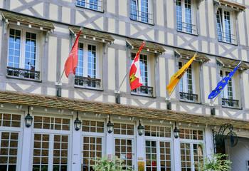 Normandie, the picturesque city of Lyons la Foret