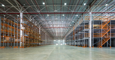 Foto op Plexiglas Industrial geb. A big storage room