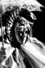 Venice carnival mask