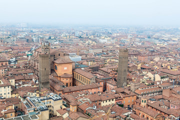 Bologna from Asinelli Tower