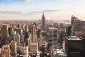 View of lower Manhattan in New York