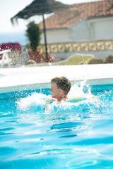Sweet fun in the waterpool