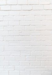 Square white brick wall background