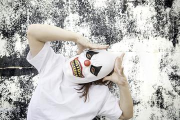 Clown anguish fear