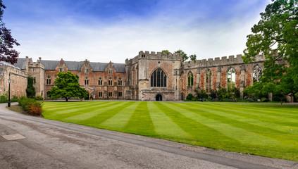 Bishops Palace Wells Somerset England