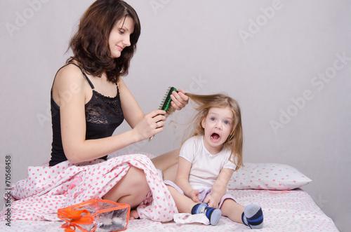 фото мама лохматка перед сыном