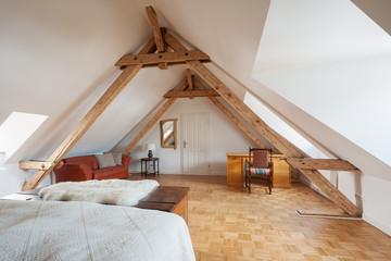 wohnen unter dem dach