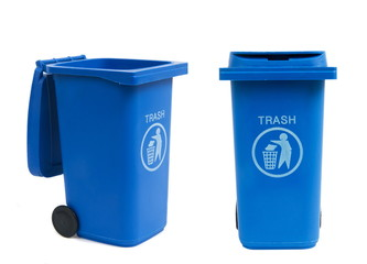 rubbish bins