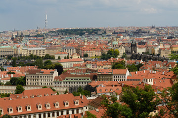Prague historical center