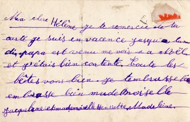 French Antique Postcard 8