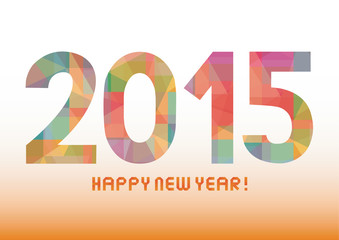 Happy new year 2015 greeting card6