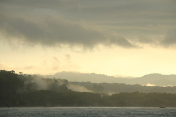 Morning Mist over Corcovado, Osa Peninsula, Costa Rica