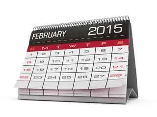 February 2015 calendar