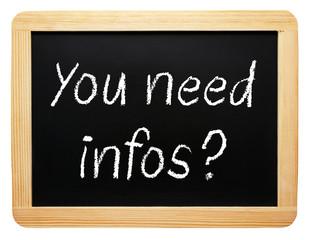 You need infos ?